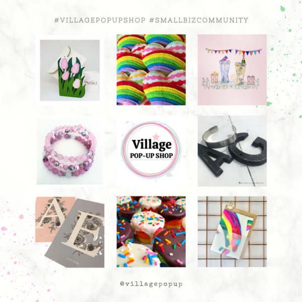Shop Products. Village Pop-Up Shop