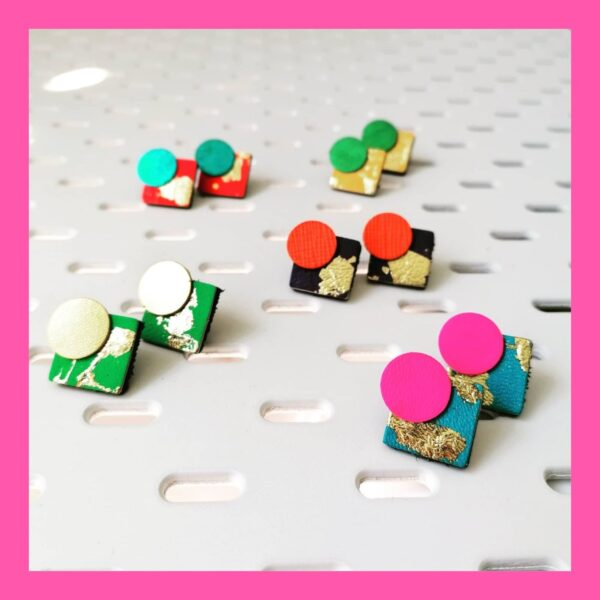 Tula & the Whale Statement Studs