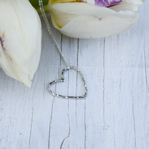 Jackie Vine Jewellery, Heart Necklace