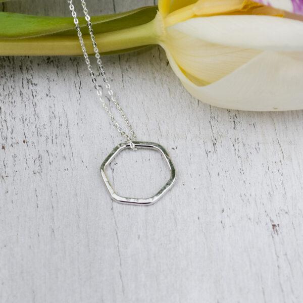 jackie vine jewellery, Hexagon Pendant