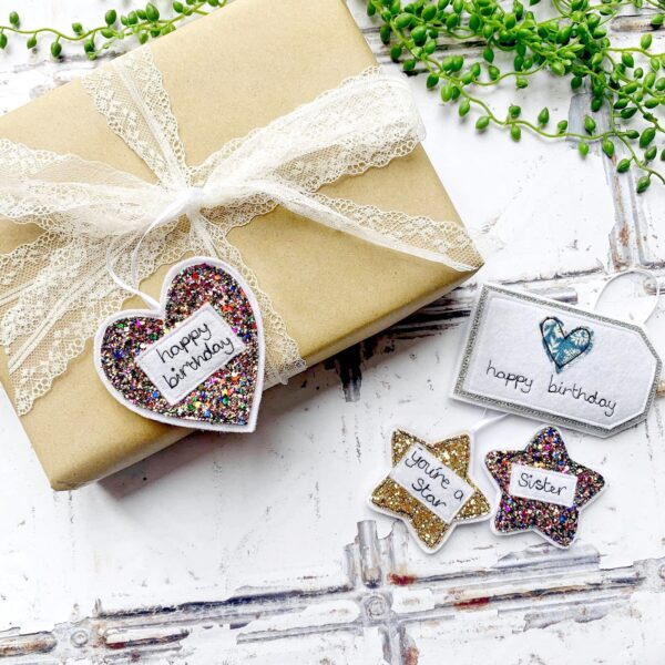 Tink&Reu   Personalised Fabric Gift Tags