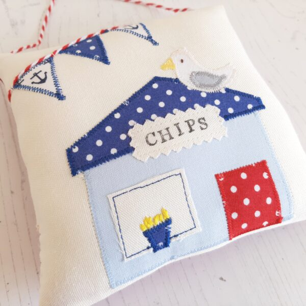 A Life Sew Simple, Seaside Chip shop decoration