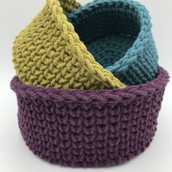 Edgy Threads, Nesting Basket