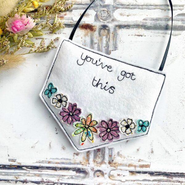 Tink&Reu   Personalised Floral Pennant