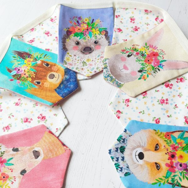 A Life Sew Simple, Woodland Bunting