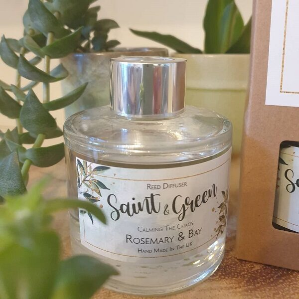 Saint & Green 100ml luxury scented reed diffuser