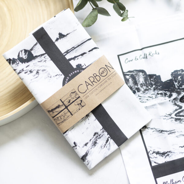 Yorkshire Tea Towel by Carbon Art