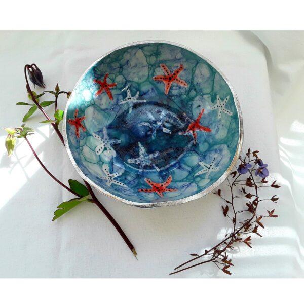 Cherryloftstudio. Semi-porcelain Starfish bowl.