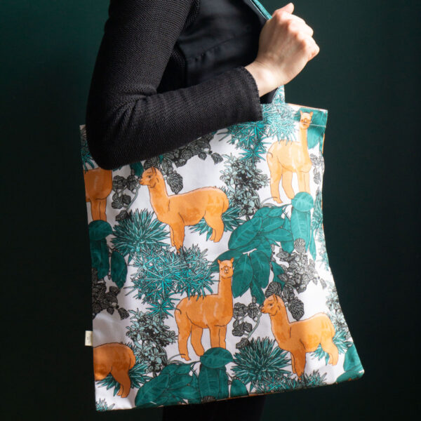 20 Seventh Letter Alpaca Tote Bag