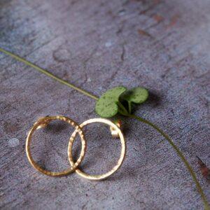 Jewellery by Alex - 9ct Gold Hoop Earrings
