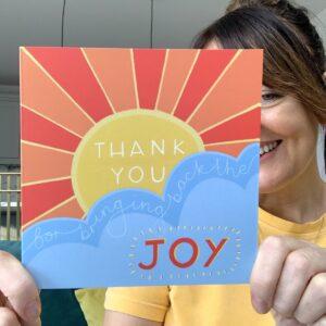 Sunshine Thank You Card
