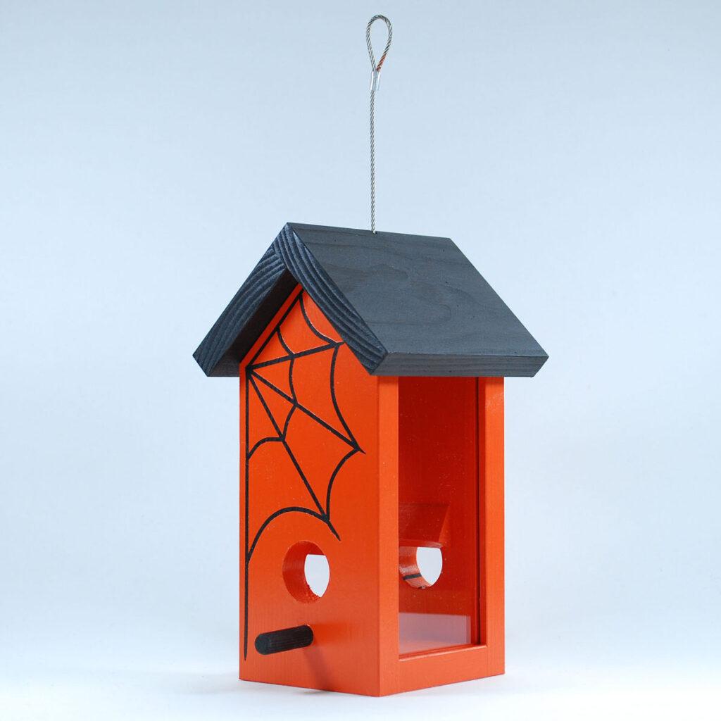 Happy Wildlife, Halloween special edition wren bird feeder