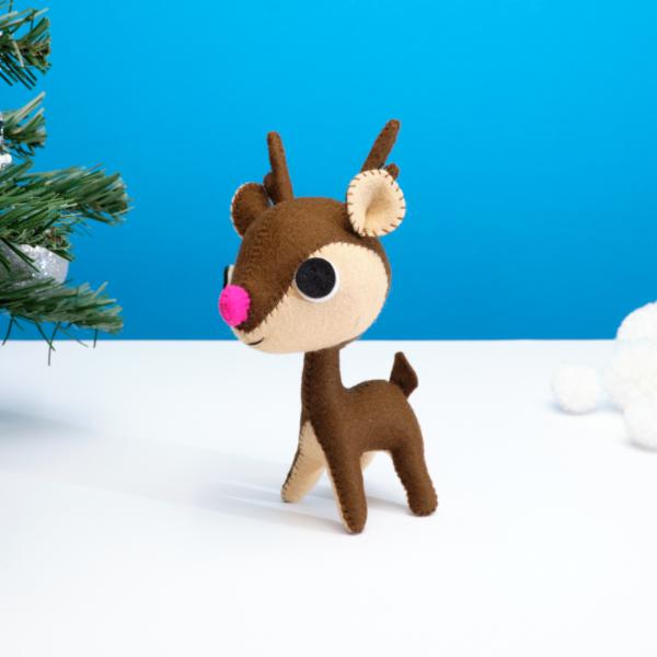 Festive Reindeer ornament
