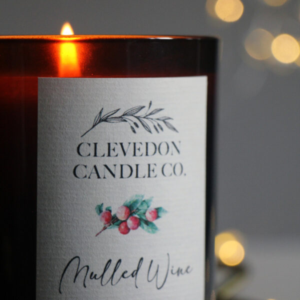 Clevedon Candle Co, Mulled Wine Christmas Candle