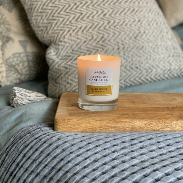 Clevedon Candle Co, Dark Honey & Tobacco Candle