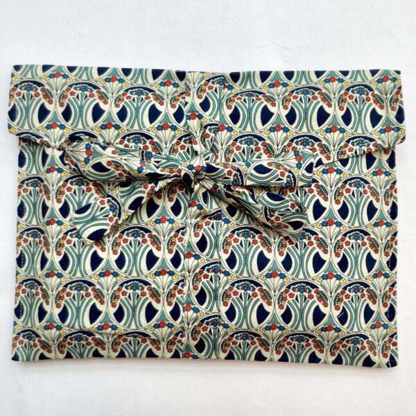 Liberty Print Mauverina fabric gift bag, Foreverwraps