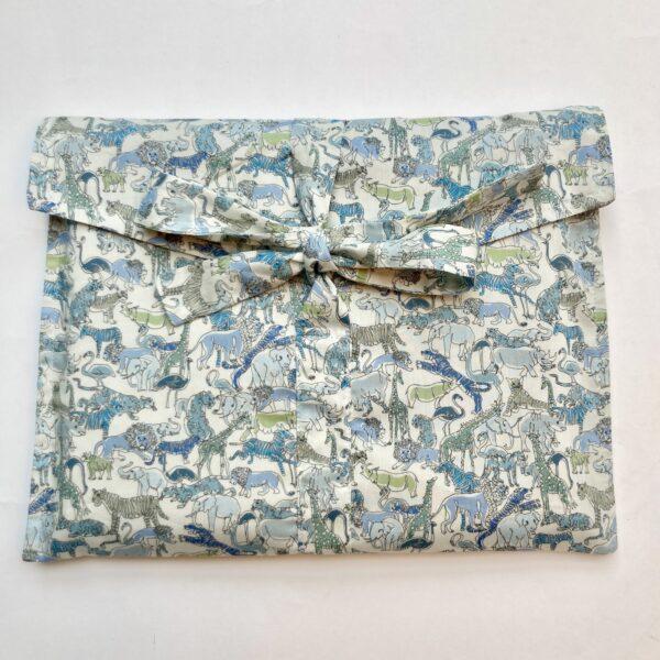 Liberty Print Safari fabric gift bag, Foreverwraps