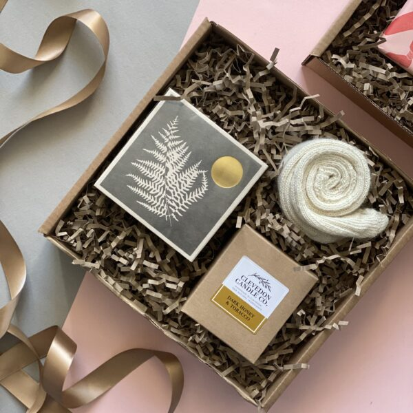 Clevedon Candle Co, Luxury Cosy Gift Box